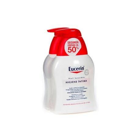 Eucerin Higiene Intima Duplo 250 ml segunda unidad al 50%