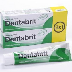 Dentabrit Anti Caries fluor 125 ml 2x1
