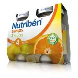 Zumo 3 Frutas 2x130ml