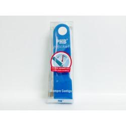Phb Cepillo Dental Pocket Viaje Azul