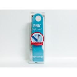Phb Cepillo Dental Pocket Viaje Rojo