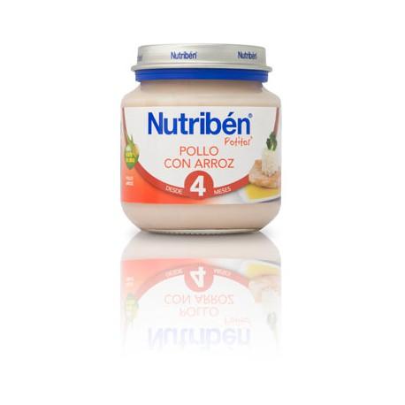 Nutriben Pollo con arroz 130g +4meses