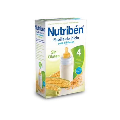 Nutriben papilla sin gluten 600g para biberón.