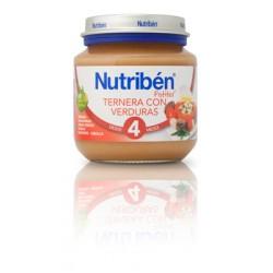 Nutriben Ternera con verduras 130G +4meses