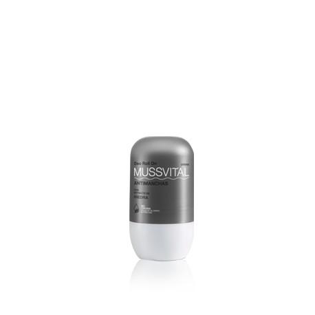 Desodorante Mussvital antimanchas con extracto de hiedra 75 ml