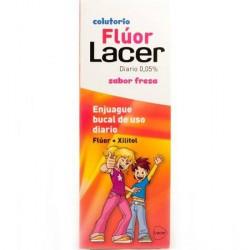 LACER COLUTORIO FLUOR FRESA 0,05 500 ML