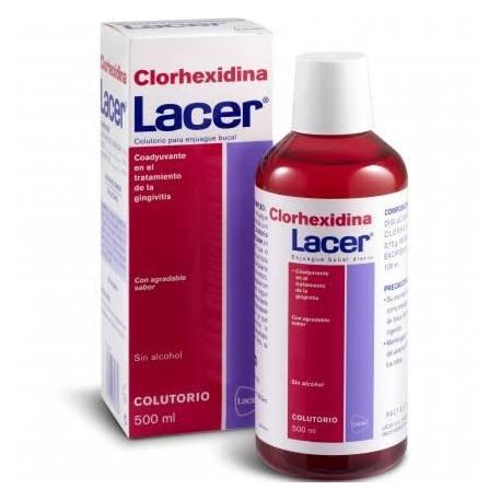 Lacer Colutorio Clorhexidina 500ml