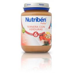 Nutriben Ternera con verduras  200g +6meses