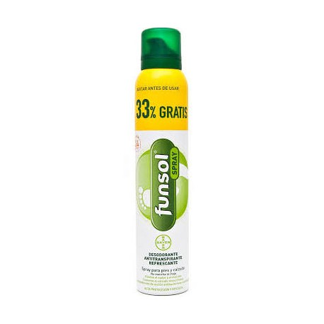 Funsol Spray Desodorante Pies 150+50ml 33% Gratis