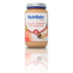 Nutriben Pollo-ternera, verduras 250g +6meses