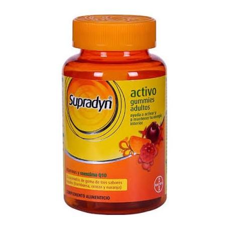 Supradyn Activo Gummies Adultos 70 Caramelos +40% Producto