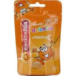 Redoxitos Vitamina C 25 Perlas blandas Sabor Naraja