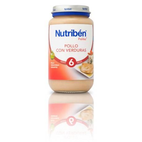 Nutriben Pollo con verduras 250g +6meses