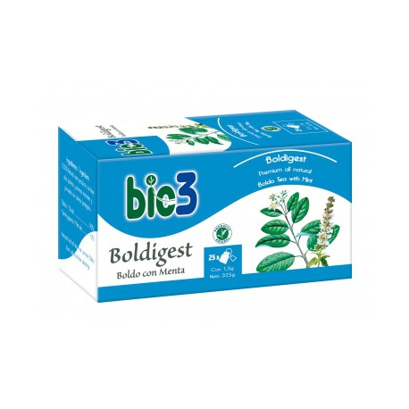 Bie3 Boldigest - Boldo con Menta