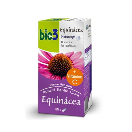 Bie3 Equinácea Naturcaps 80 Capsulas