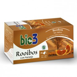 Bie3 Rooibos con Naranja 25 Bolsitas