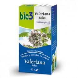 Bie3 Valeriana Naturcaps 80 Capsulas