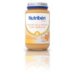 Nutriben Postre de 6 frutas con cereales  250g +6meses