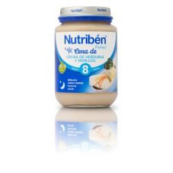 Nutriben Crema de Verduras con Merluza 200g +8meses