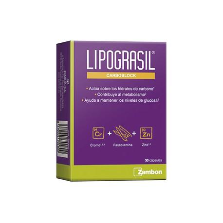 Lipograsil Carboblock 30 Capsulas