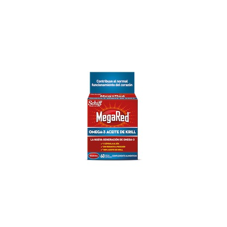 Megared 500 Mg Omega 3 Aceite De Krill 20 C
