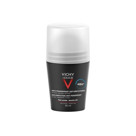 Vichy Homme Desodorante Piel Sensible Roll On 50ml