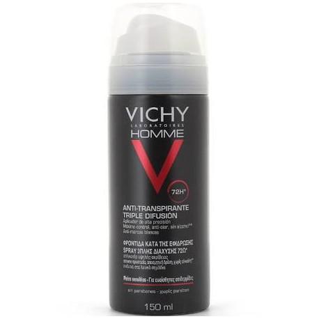 Vichy Homme Desodorante Triple Difusion 150ML