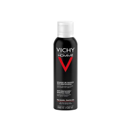 VICHY HOMME Sin jabón Triple Protección ESPUMA DE AFEITADO - AFEITADO 200ML