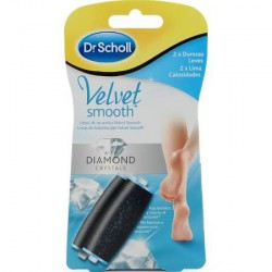 Dr Scholl Velvet Smooth Diamond Crystals 2 recambios mixto