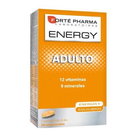 ENERGY - ENERGY ADULTO COMPLEJO MULTIVITAMÍNICO 28 COMPRIMIDOS