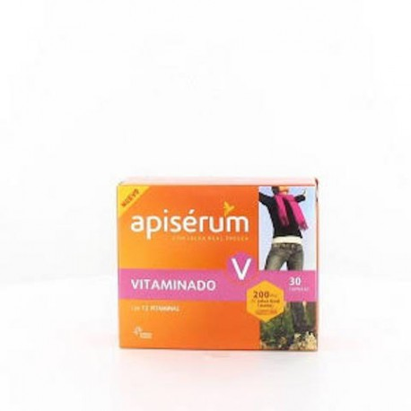 APISERUM VIT CAPSULAS  30 CAPS