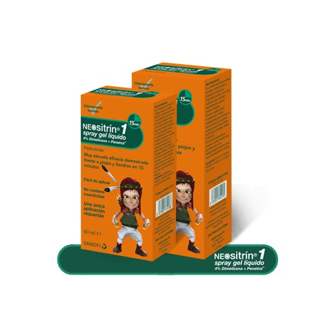 Neositrin 100% Spray Gel Líquido 100 ml