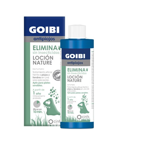Goibi Antipiojos Loción Nature 200 ml con lendrera de regalo