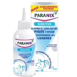Paranix Sensitive Tratamiento Contra Piojos Y Liendres 100 ml