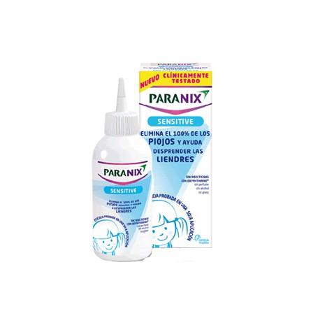 Paranix Sensitive Tratamiento Contra Piojos Y Liendres 100 ml