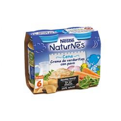 NESTLÉ NATURNES Cena Crema de verduritas con pavo 200g +6meses