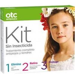 Otc Kit Sin Insecticida Locion + Acondicionador + Spray