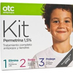 Otc Kit Antipiojos 123 permetrina 1,5%