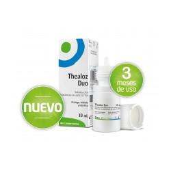 THEALOZ DUO Protección, hidratación y lubrificación del ojo para el tratamiento de la sequedad ocular moderada o grave.