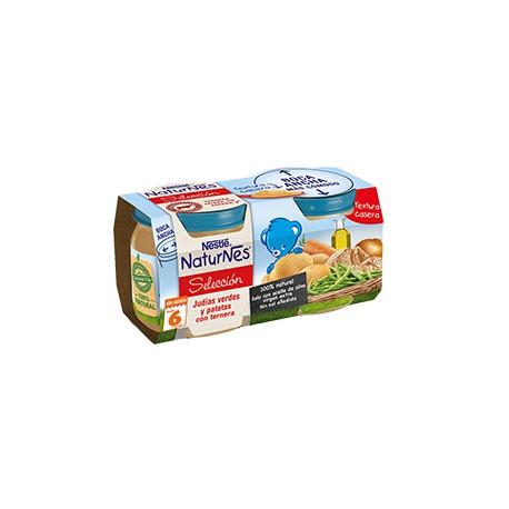 NESTLÉ NATURNES SELECCIÓN Judías verdes y patatas con ternera 2x200 +6
