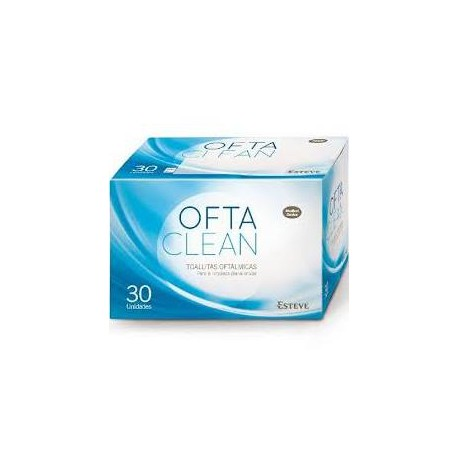Oftaclean 30 Toallitas Oftalmologicas