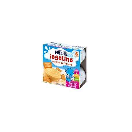 Iogolino natillas de galleta 100 gr x 4uds