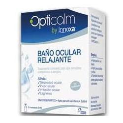 Opticalm Innoxa Baño Ocular Relajante 20 Monodosis Apto Niños