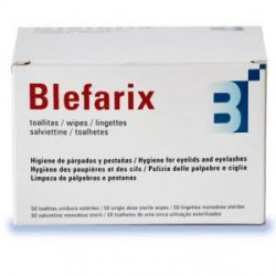 BLEFARIX TOALLITAS 50 UND.
