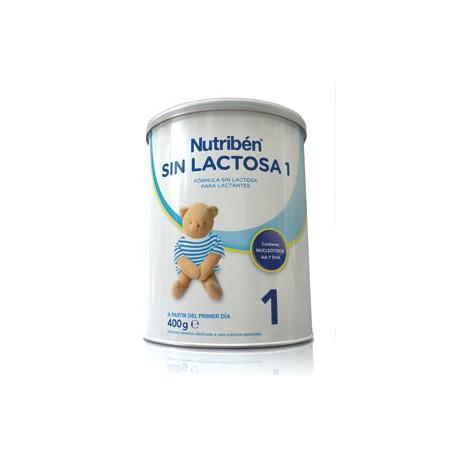 Nutribén  sin lactosa 1  400 gr