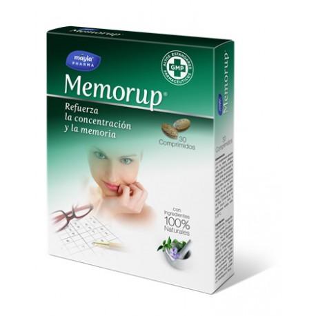 Memorup Refuerza la concentración y la memoria 30 Comprimidos