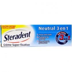 Steradent Fijador crema 3in1 neutral 40 GRAMOS