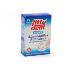 Fittydent  Super Almohadillas Adhesivas 15 unidades
