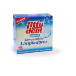Fittydent  Super Comprimidos Limpiadores 32 unidades