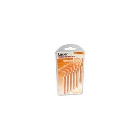 Cep. Lacer Interdental 6 Unids Extrafino Angular